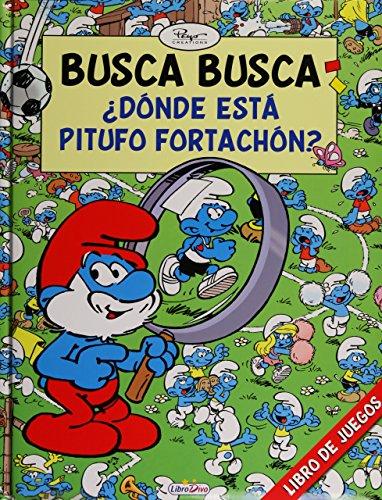 9788415557371: LOS PITUFOS BUSCA BUSCA ¿DÓNDE ESTÁ PITUFO FORTACHÓN ?: 4
