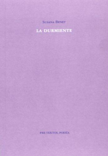 9788415576600: La Durmiente (Poesía)