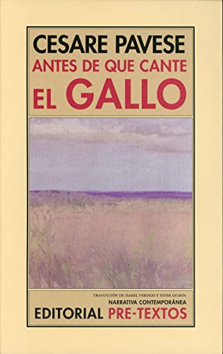 9788415576785: Antes De Que Cante El Gallo (Narrativa Contemporánea)
