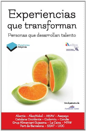 9788415577102: Experiencias que transforman