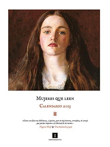9788415578208: 2013 calendario mujeres que leen