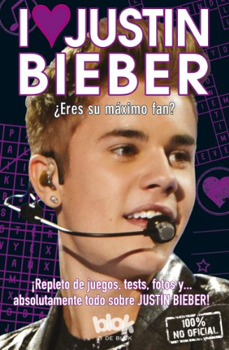 9788415579571: I love Justin Bieber (Spanish Edition)