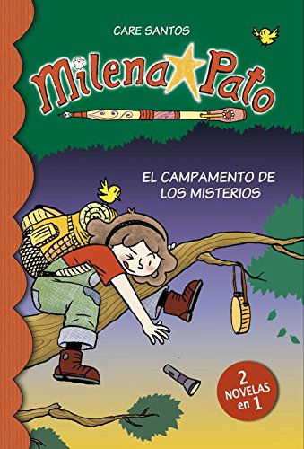 9788415580393: El campamento de los misterios (2 novelas en 1) (Serie Milena Pato 6) (Jóvenes lectores)