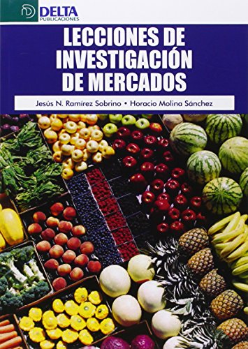 Resultado de imagen para Lecciones de Investigación de Mercados portada
