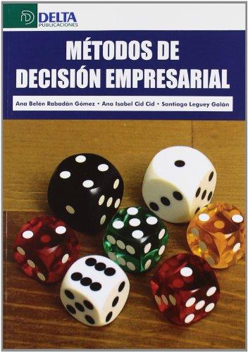 9788415581154: Métodos de decisión empresarial