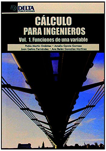 9788415581758: Cálculo para ingenieros: Funciones de una variable