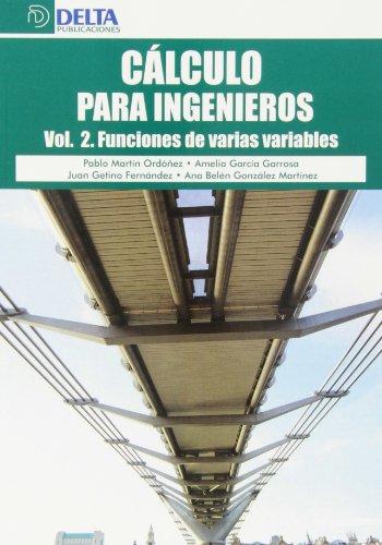 9788415581765: Cálculo para ingenieros: Funciones de varias variables