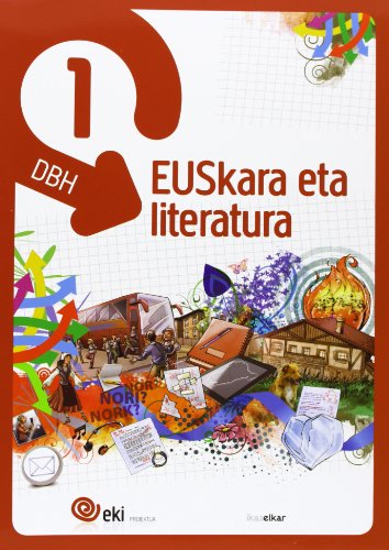 9788415586081: EKI DBH 1. Euskara eta Literatura 1 (Pack 3) (EKI 1) - 9788415586081