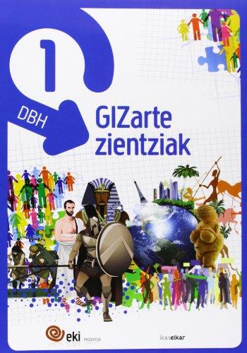 9788415586203: EKI DBH 1. Gizarte Zientziak 1 (Pack 3) (EKI 1) - 9788415586203