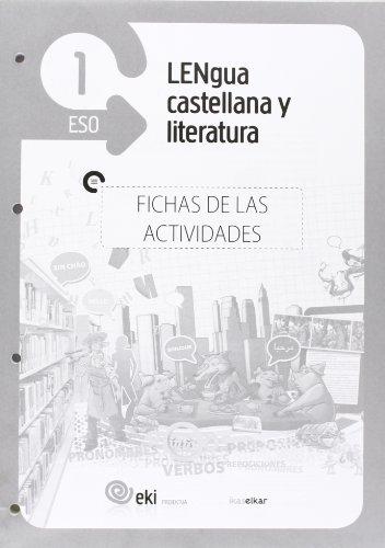 9788415586395: EKI DBH 1. Lengua castellana y Literatura 1. Fichas de las actividades (EKI 1) - 9788415586395