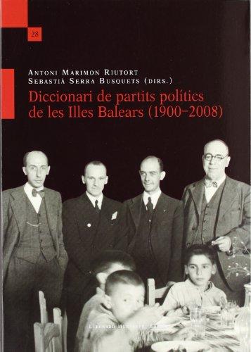 9788415592006: DICC. DE PARTITS POLITICS DE LES ILLES BALEARS (19