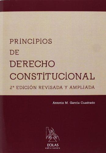 9788415603177: PRINCIPIOS DE DERECHO CONSTITUCIONAL 2'ED