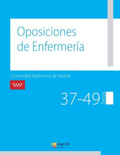 9788415617662: Manual CTO de Oposiciones de enfermería de la Comunidad de Madrid. Vol. III: temas 37-49