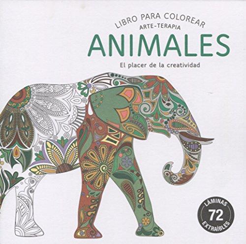 ANIMALES: Libro para colorear by VV.AA.: EDITORIAL ALMA EUROPA ...