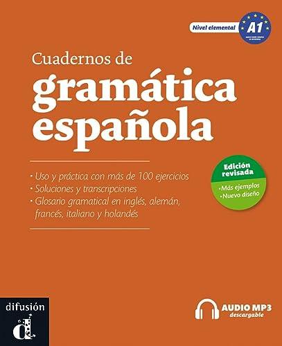 9788415620686: Cuadernos de gramática española A1 + CD audio MP3 - Nueva ed.