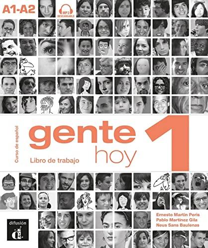 9788415620792: Gente hoy. Libro del trabajo. Per le Scuole superiori. Con CD Audio. Con espansione online: Gente hoy 1. (Ele - Texto Español)