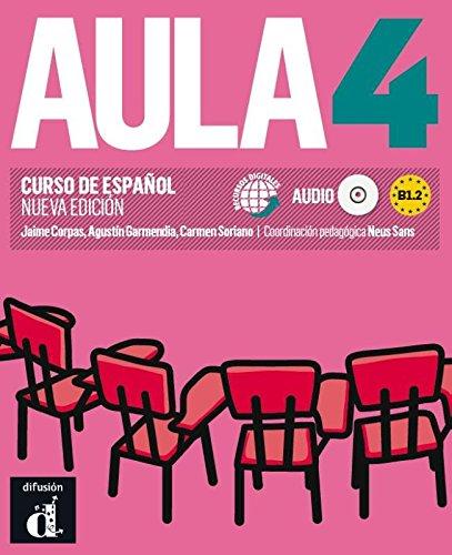 9788415620839: Aula 4. Nueva edicion. Libro del alumno + CD (Spanish Edition)