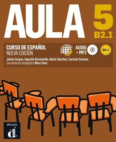 9788415620846: Aula 5. Nueva edicion B2.1. Libro del alumno+CD (Spanish Edition)