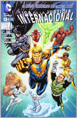 9788415628163: Liga de la justicia Internacional núm. 01 (Liga de la justicia Internacional (Nuevo Universo DC))