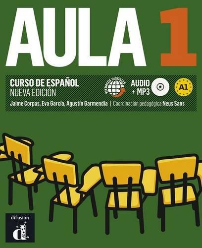 9788415640066: Aula 1. Nueva edicion. Libro del alumno + CD (Spanish Edition)