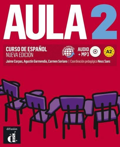 9788415640073: Aula 2. Nueva edicion. Libro del alumno + CD (Spanish Edition)