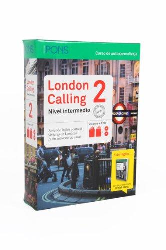9788415640141: London Calling 2 (Nivel A2-B1) (2 libros + 2 CD + British Slang) (Pons - En La Empresa)