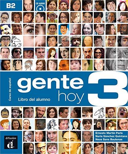 9788415640400: Gente Hoy 3 Livre de l'Eleve + CD