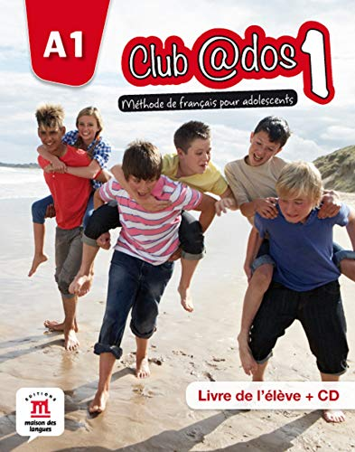 9788415640448: Club@dos. Livre de l'élève-Cahier d'exercices. Per la Scuola media. Con espansione online: Club@dos 1