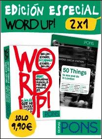 9788415640547: Word up! - EDICIÓN ESPECIAL 2 x 1 (diccionario de argot inglés + guía de Londres) (Pons - Diccionarios)