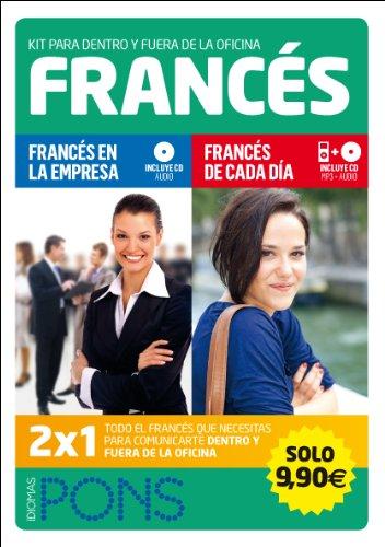 9788415640578: Kit para dentro y fuera de la oficina. Francés (2 libros +2 CD)) (Pons - Kit Empresa)