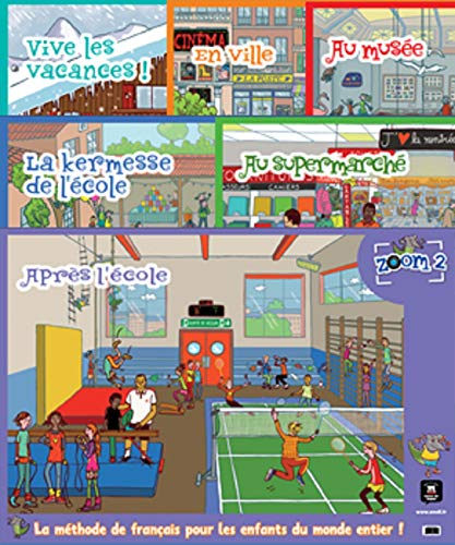 9788415640790: Zoom: Pack De 6 Posters (French Edition)