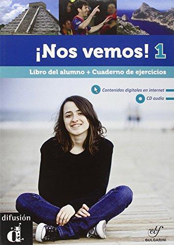 9788415640868: Nos vemos! Nivel 1. Libro del alumno. Con e-book. Per le Scuole superiori. Con CD Audio. Con CD-ROM