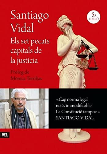 9788415642695: Els Set Pecats Capitals De La Justícia (Catalán)
