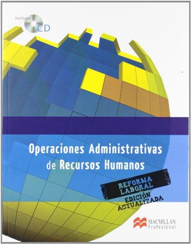 9788415656296: OPERAC ADMIN RECURSOS HUMAN.Pack 2012