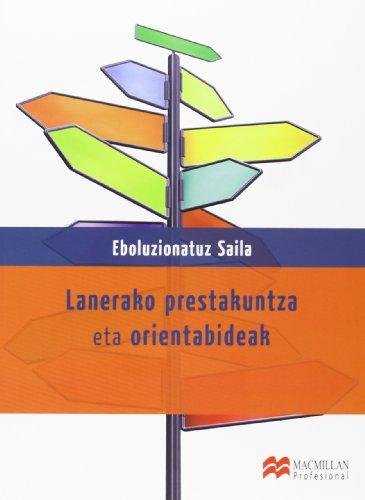 9788415656562: Laneko Prestakuntza eta Orientabidea Eboluzionatuz Saila (Transversales)