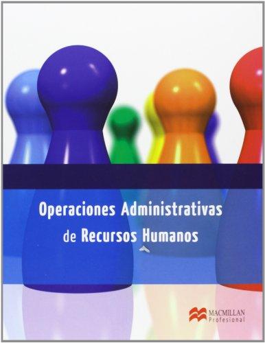 9788415656586: Operac Admin Recursos Human 2013 (Gestión Administrativa)