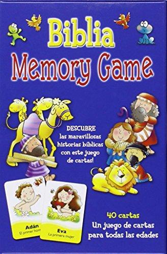 Biblia Memory Game: juego de cartas: VV.AA.