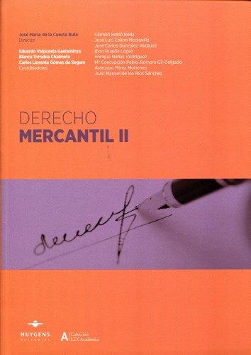 9788415663096: Derecho mercantil II