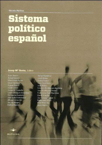 9788415663102: El sistema político español (Ciencia Política)
