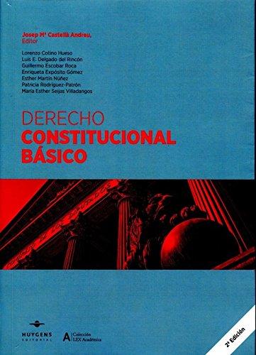 9788415663508: Derecho Constitucional Básico (LEX ACADÉMICA)