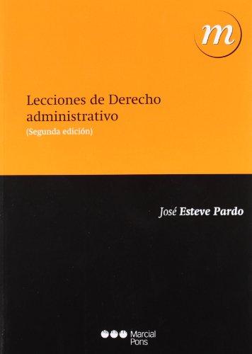 9788415664024: LECCIONES DE DERECHO ADMINISTRATIVO