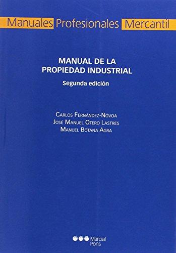 9788415664642: MANUAL DE PROPIEDAD INDUSTRIAL (3ª ED)
