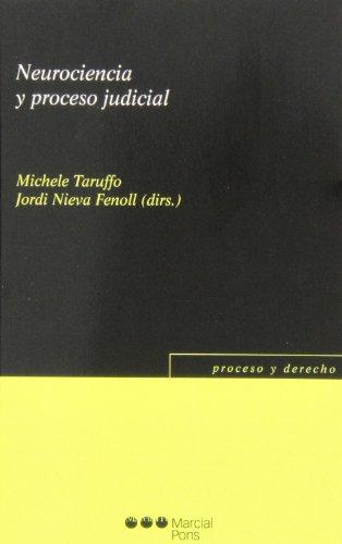 9788415664901: NEUROCIENCIA Y PROCESO JUDICIAL