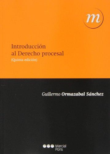 9788415664918: Introducción al derecho procesal (5ª ed. - 2013) (Manuales universitarios)