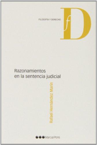 9788415664970: Razonamientos en la sentencia judicial