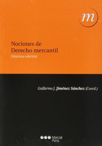 9788415664994: NOCIONES DE DERECHO MERCANTIL 7ª ED. 2013