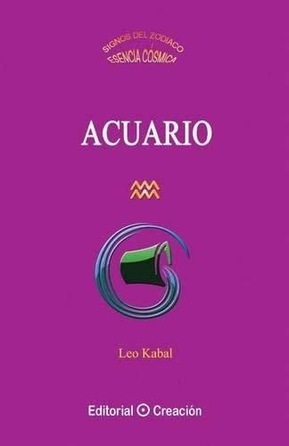 9788415676362: Acuario (Spanish Edition)