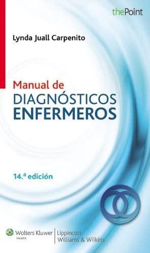 Manual de diagnósticos de enfermería (Point (Lippincott: Carpenito RN MSN