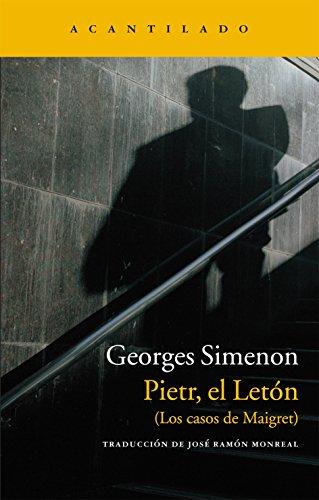 9788415689003: Pietr, el letón