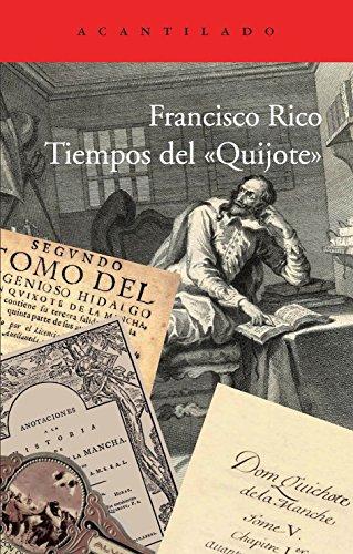 9788415689089: Tiempos delQuijote (Acantilado)